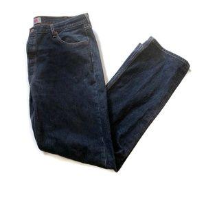 Levis 501 Mens Denim Jeans Black 42 Straight